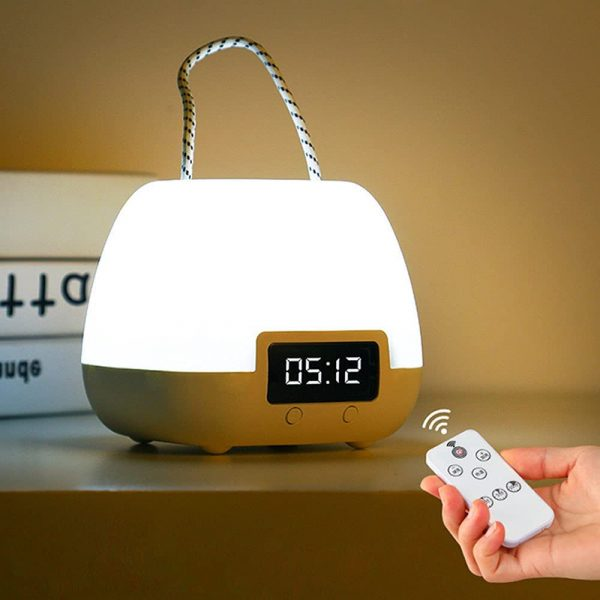 Remote Controlled USB Rechargeable Hanging Bedside Lamp_3