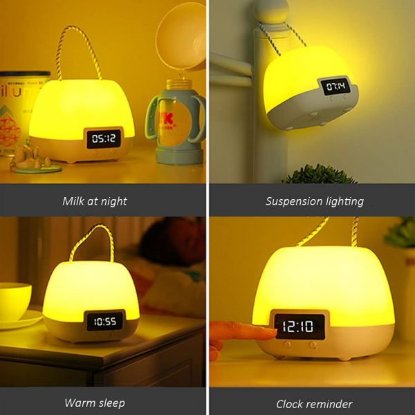 Remote Controlled USB Rechargeable Hanging Bedside Lamp_4
