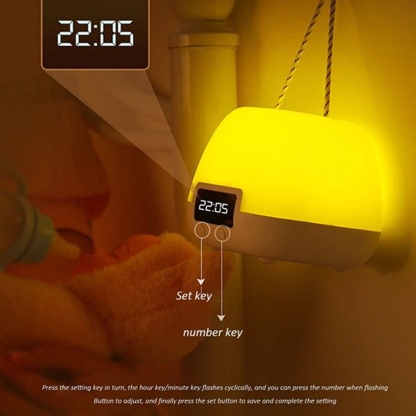Remote Controlled USB Rechargeable Hanging Bedside Lamp_5