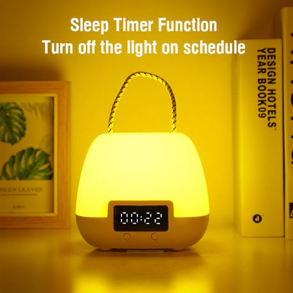 Remote Controlled USB Rechargeable Hanging Bedside Lamp_9