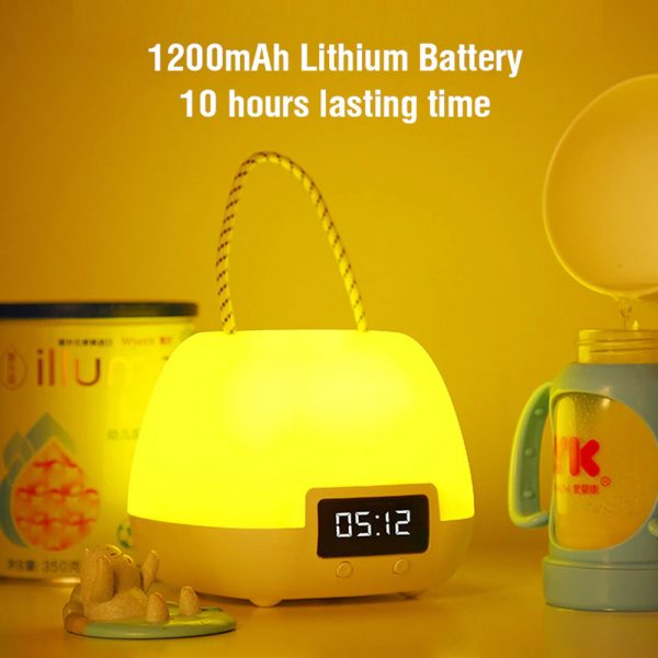 Remote Controlled USB Rechargeable Hanging Bedside Lamp_11