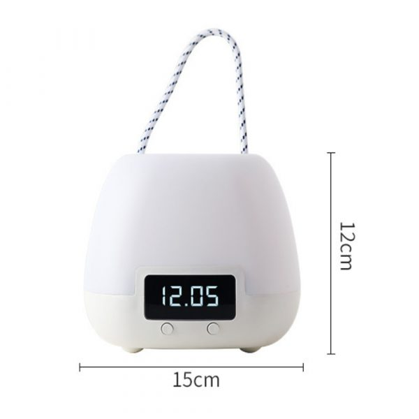 Remote Controlled USB Rechargeable Hanging Bedside Lamp_12