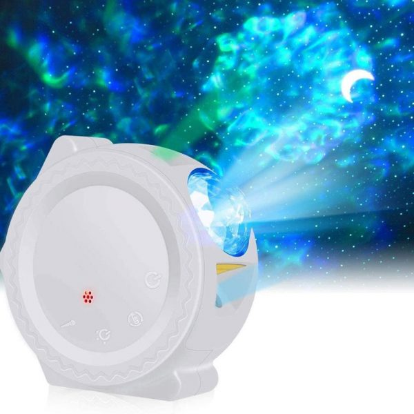 360° Rotation LED Star Light Galaxy Projector and Night Lamp_1