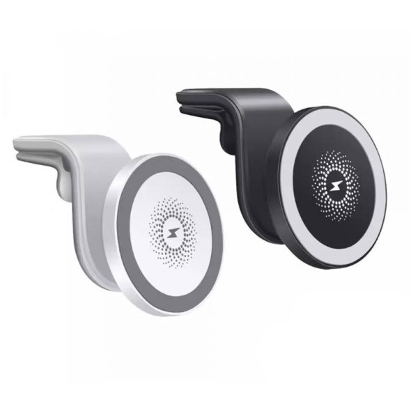 15W Wireless Car Air Vent Charger for QI Enabled Devices_0