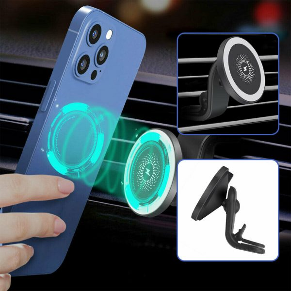 15W Wireless Car Air Vent Charger for QI Enabled Devices_7