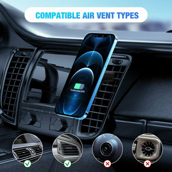 15W Wireless Car Air Vent Charger for QI Enabled Devices_9