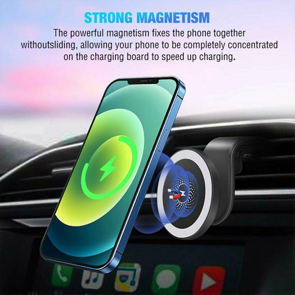 15W Wireless Car Air Vent Charger for QI Enabled Devices_12