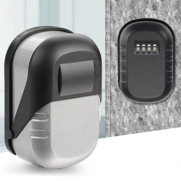 4 Digit Combination Wall Mounted Key Safe Box and Vault_5