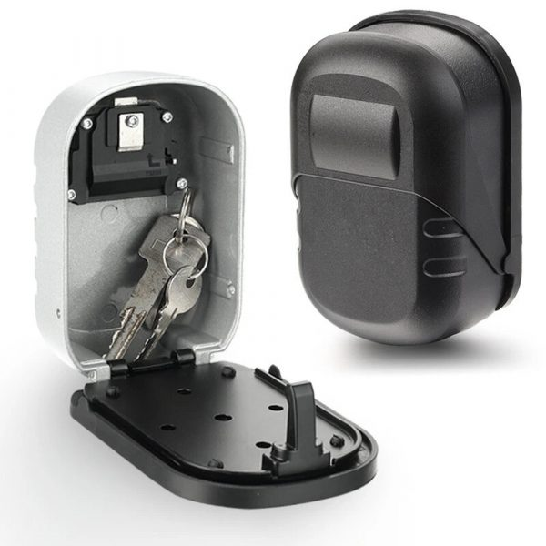 4 Digit Combination Wall Mounted Key Safe Box and Vault_1