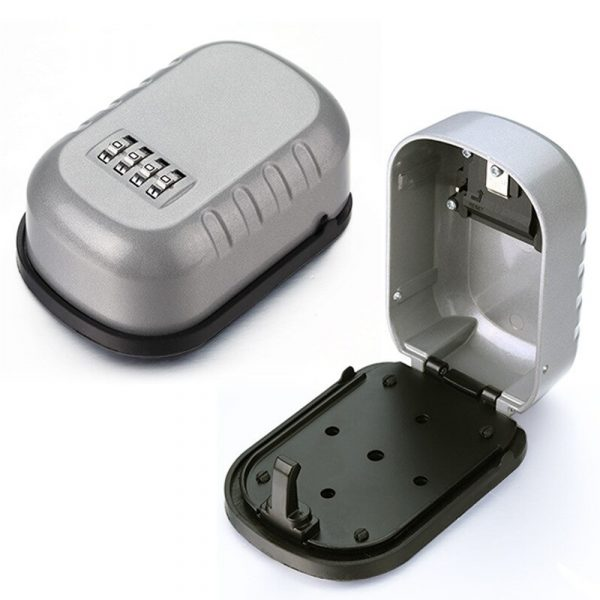 4 Digit Combination Wall Mounted Key Safe Box and Vault_4