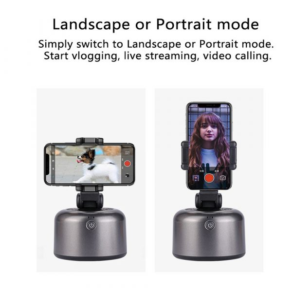 Auto-Tracking Smartphone Holder Handsfree Face Tracking Stand_12
