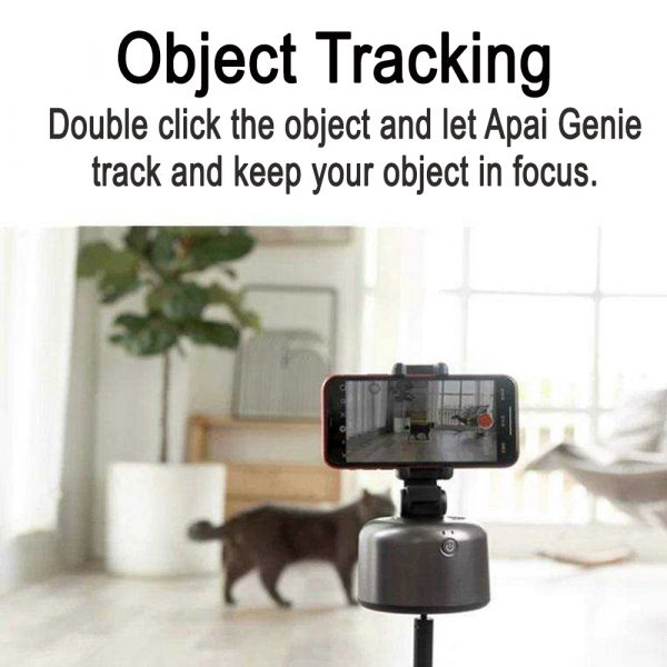Auto-Tracking Smartphone Holder Handsfree Face Tracking Stand_4