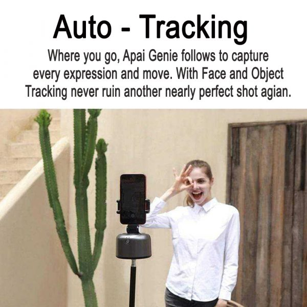 Auto-Tracking Smartphone Holder Handsfree Face Tracking Stand_6