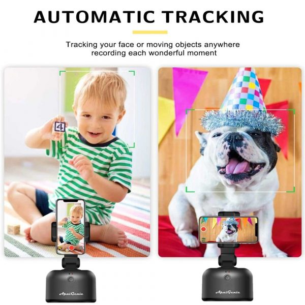 Auto-Tracking Smartphone Holder Handsfree Face Tracking Stand_9