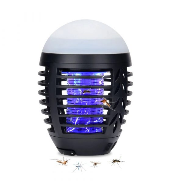 Round Egg-shaped Electric Shock-Type Mosquito Repellent Lamp_0