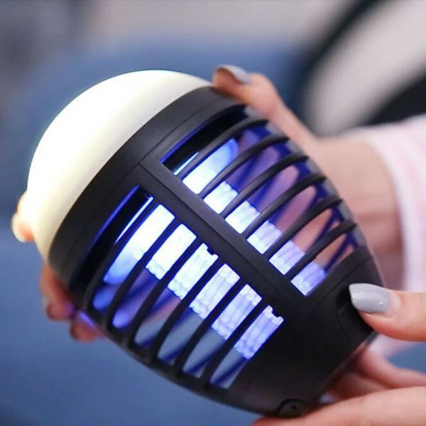 Round Egg-shaped Electric Shock-Type Mosquito Repellent Lamp_3