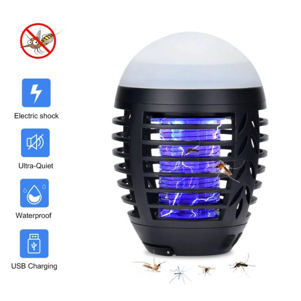 Round Egg-shaped Electric Shock-Type Mosquito Repellent Lamp_4