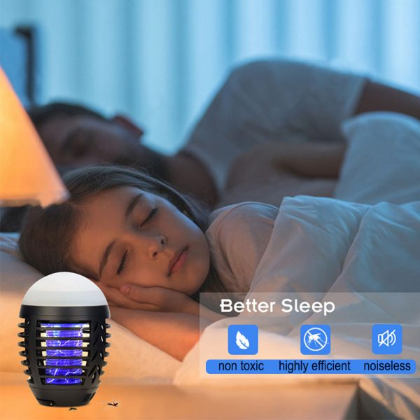 Round Egg-shaped Electric Shock-Type Mosquito Repellent Lamp_8