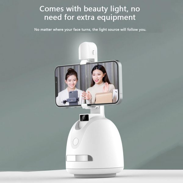 360° Object Tracking Battery Operated Mobile Phone Holder_4