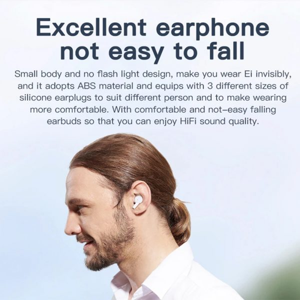 Wireless Earbud in-Ear Earphones with Charging Case and Mic_16