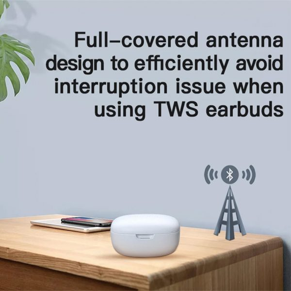 Wireless Earbud in-Ear Earphones with Charging Case and Mic_6