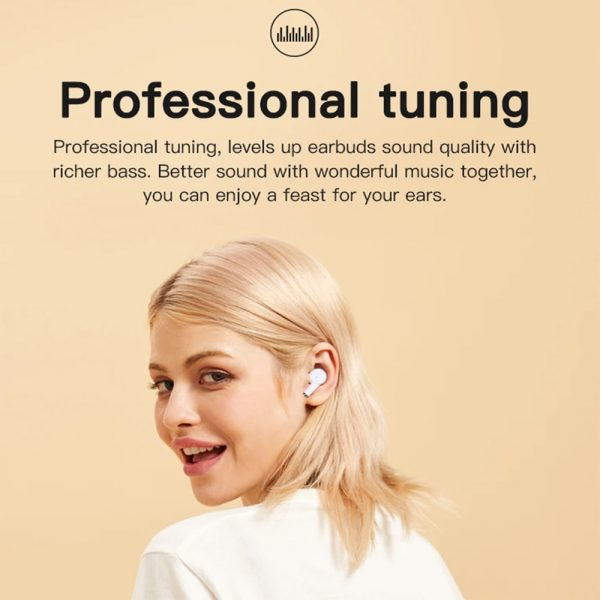 Wireless Earbud in-Ear Earphones with Charging Case and Mic_10