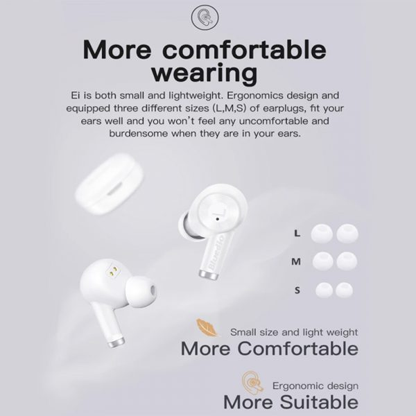 Wireless Earbud in-Ear Earphones with Charging Case and Mic_11