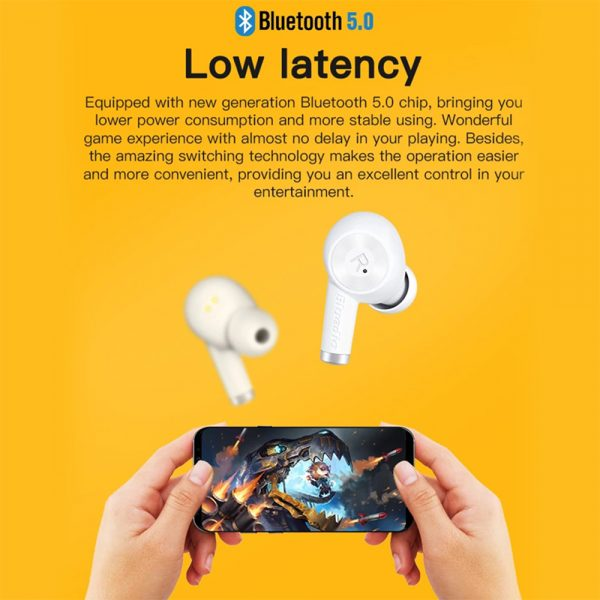 Wireless Earbud in-Ear Earphones with Charging Case and Mic_12