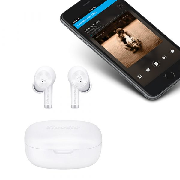 Wireless Earbud in-Ear Earphones with Charging Case and Mic_4