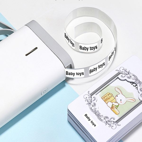 D11 Portable Wireless Thermal Inkless Bluetooth Label Printer_5