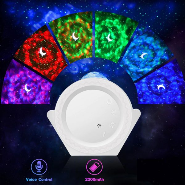 360° Rotation LED Star Light Galaxy Projector and Night Lamp_9