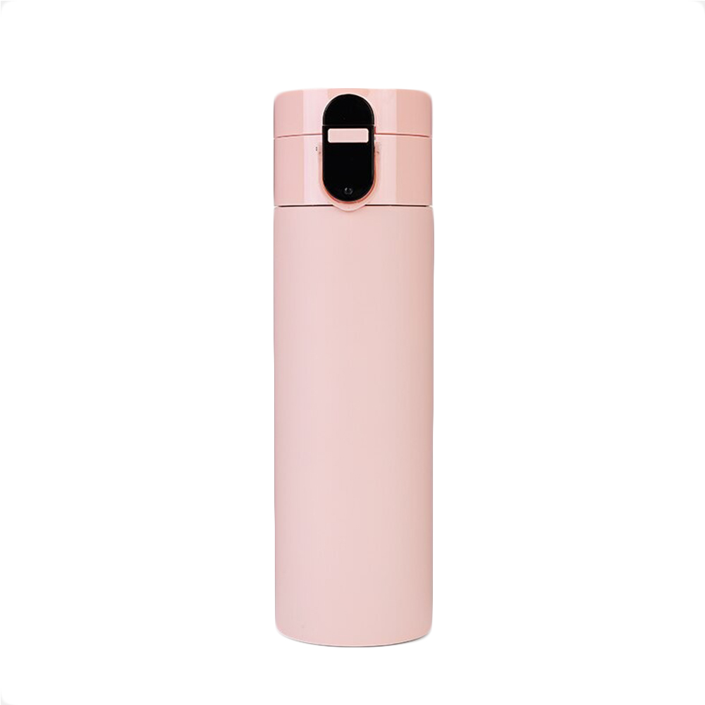Rechargeable Insulated Smart Water Bottle with OLED Display_0