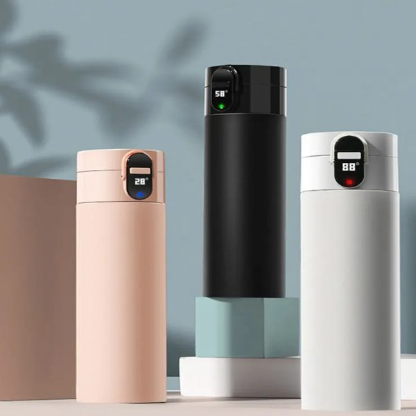 Rechargeable Insulated Smart Water Bottle with OLED Display_6