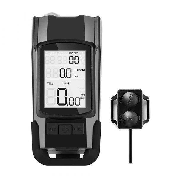 3-in-1 Bicycle Speedometer Rechargeable T6 LED Bike Light_1