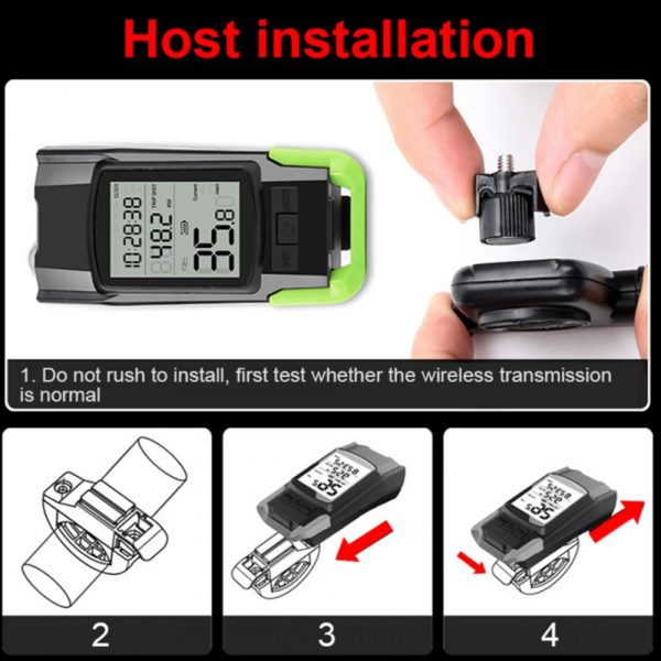 3-in-1 Bicycle Speedometer Rechargeable T6 LED Bike Light_14