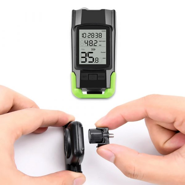 3-in-1 Bicycle Speedometer Rechargeable T6 LED Bike Light_16