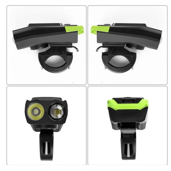 3-in-1 Bicycle Speedometer Rechargeable T6 LED Bike Light_7