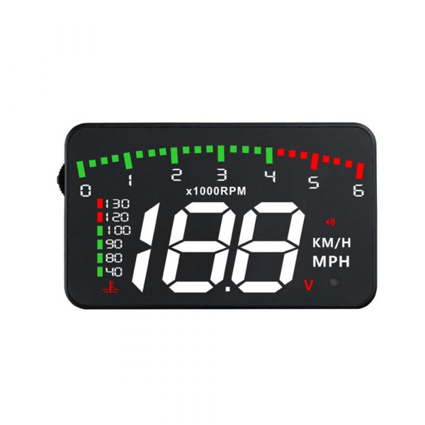HUD Car Display Overs-speed Warning Projecting Data System_0