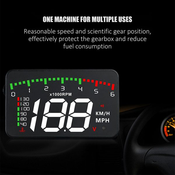 HUD Car Display Overs-speed Warning Projecting Data System_2