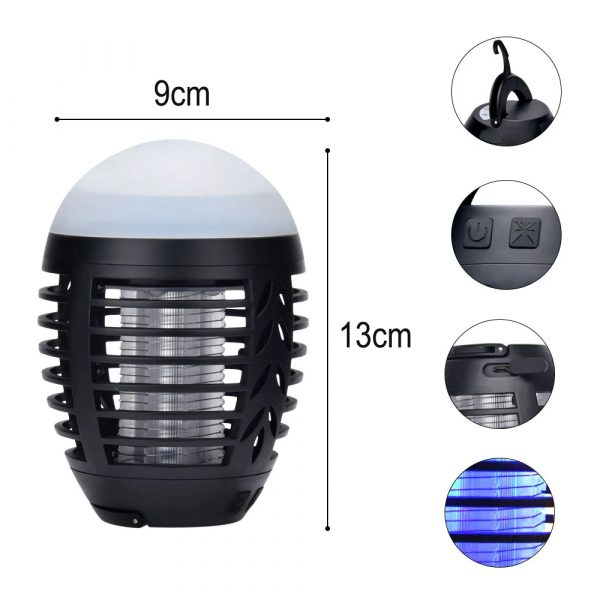Round Egg-shaped Electric Shock-Type Mosquito Repellent Lamp_6