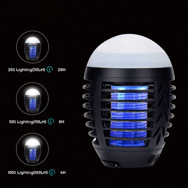 Round Egg-shaped Electric Shock-Type Mosquito Repellent Lamp_9