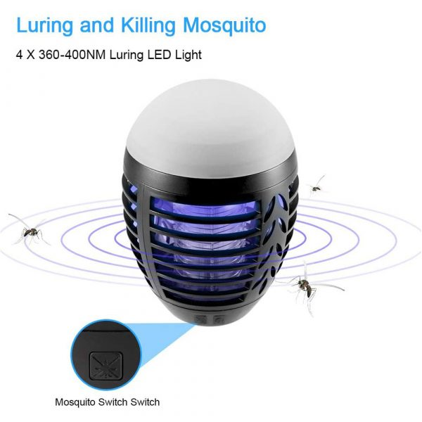 Round Egg-shaped Electric Shock-Type Mosquito Repellent Lamp_10