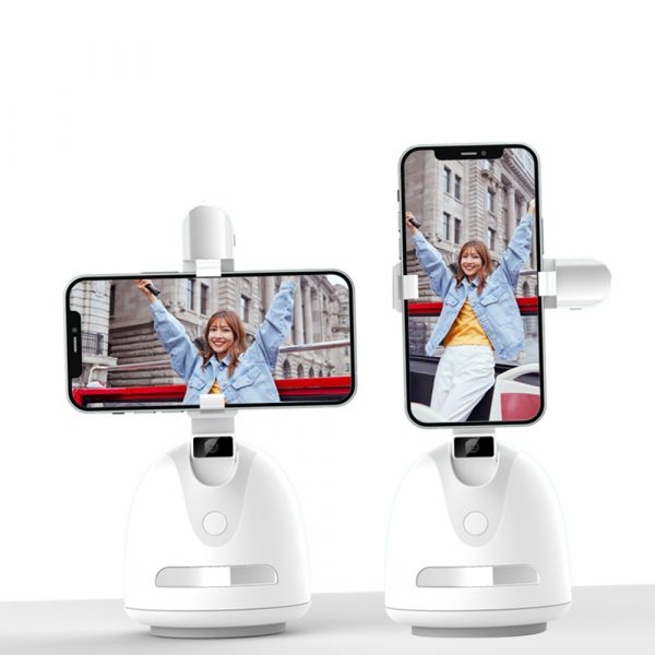 360° Object Tracking Battery Operated Mobile Phone Holder_2
