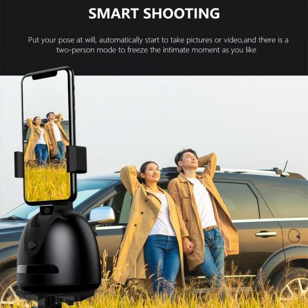 360° Object Tracking Battery Operated Mobile Phone Holder_6