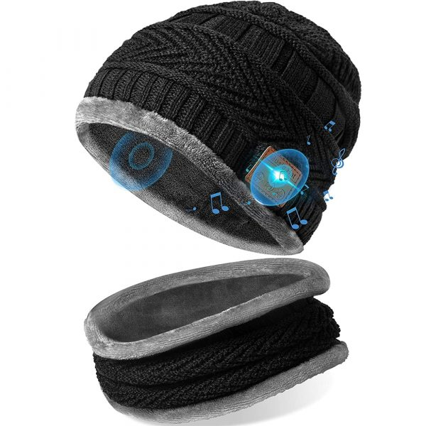 Wireless Bluetooth Musical Knitted Wearable Washable Hat_0