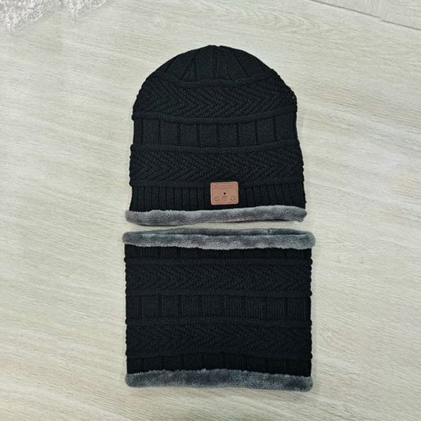 Wireless Bluetooth Musical Knitted Wearable Washable Hat_9