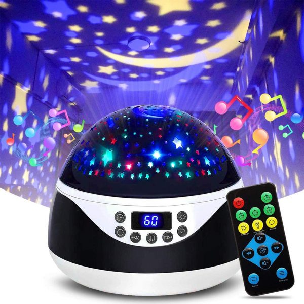 Rotating Projector Night Light with Music for Children's Bedroom_4