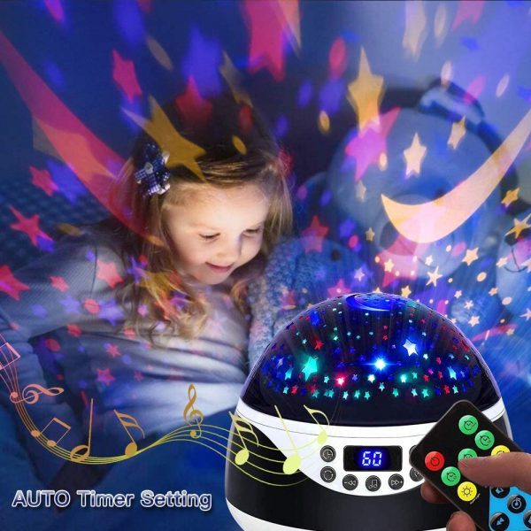 Rotating Projector Night Light with Music for Children's Bedroom_7