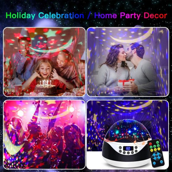 Rotating Projector Night Light with Music for Children's Bedroom_8