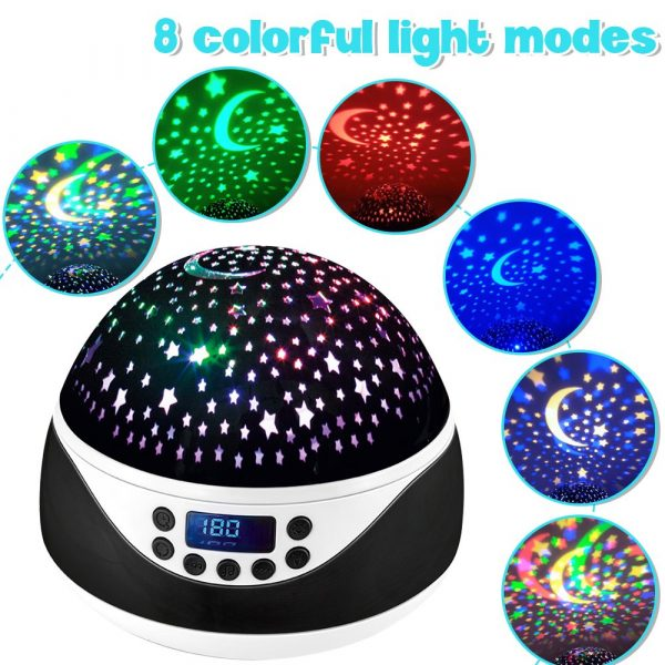 Rotating Projector Night Light with Music for Children's Bedroom_10
